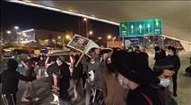 נערה נפצעה מאלימות שוטרים בכניסה לירושלים