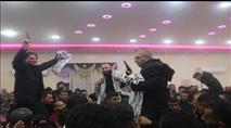 מהכלא הישראלי - לחגיגות עם נשק בלתי חוקי וקריאות לאומניות