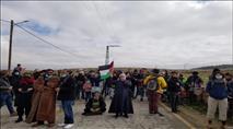 למרות המידע המוקדם: צה''ל לא מנע מפורעים ערבים לחסום כביש בהר חברון
