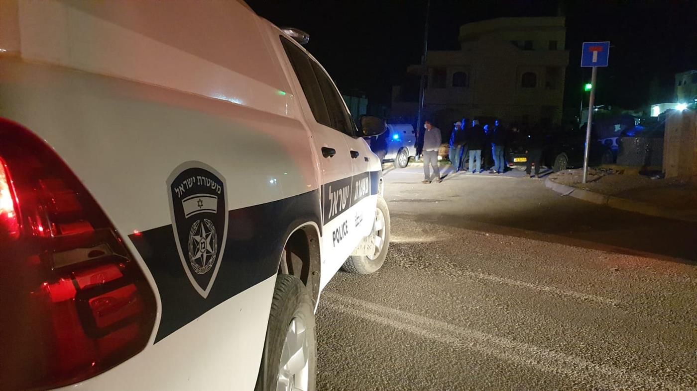 ניידת משטרה בטובא זנגרייה