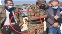 """שוב: שו""""פים חמושים בשטח C - הצבא לא התערב"""