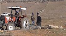 """""""נזק גדול"""": ערבים הרסו שטחי מרעה"""
