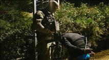 """תיעוד: לוחמי מג""""ב עצרו מתפרעים; 4 לוחמים נפצעו"""