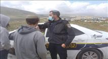 פשיטה משטרתית בבנימין: עצורים בחשד ל'העלבת שוטר'