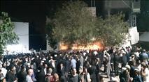 מספר שיא של מתפללים ומטיילים הלילה בקבר יהושע בן-נון