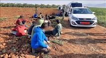 ערבים מג'נין זרקו אבנים על אוטובוס בעמק המעיינות