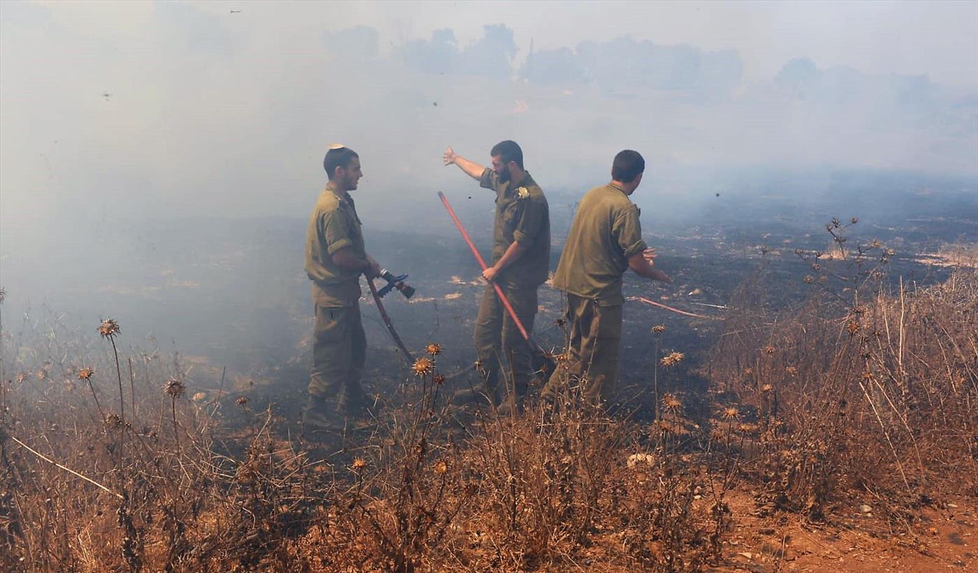 שריפות, ארכיון (צילום: אביב הרץ TPS)