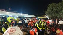 עשרות הרוגים ו-100 פצועים באסון במירון