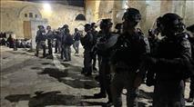 אירועי השבת: התפרעויות בירושלים; רקטה מהרצועה