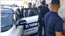 חבר מועצת עיריית ירושלים מחק גרפיטי מסית ונעצר