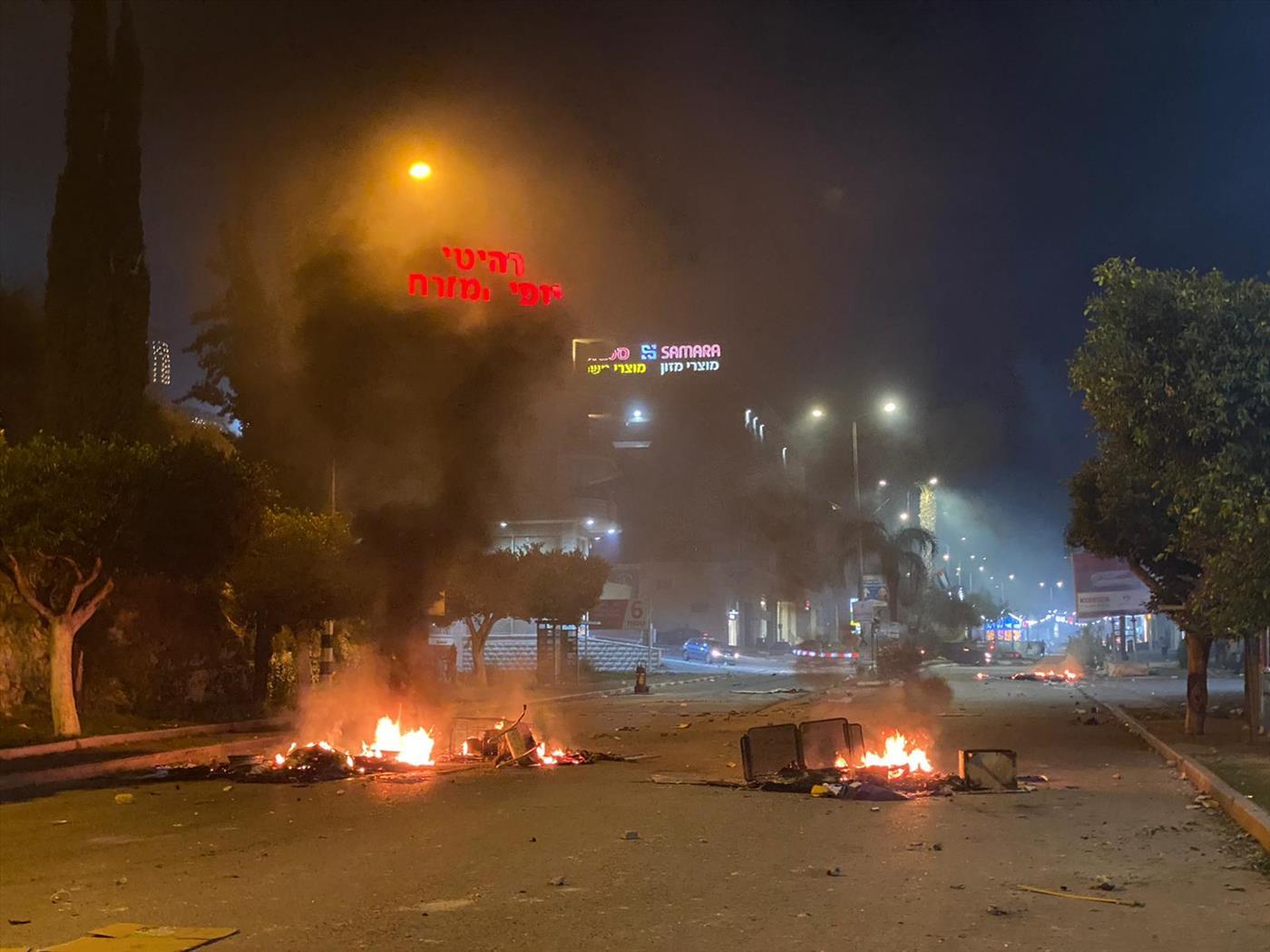 """התפרעויות בצומת גזית: המשטרה שחררה שב""""ח מרמאללה וחייל ערבי מהכפר הסמוך"""