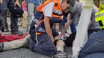 """פצוע ירי בלוד: """"ערבים רצים בלוד ויורים לכל הכיוונים"""""""