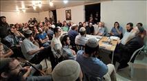 מאות השתתפו במלווה מלכה ביישוב החדש אביתר