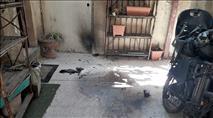 בקבוקי תבערה נזרקו על בתי היהודים בשכונת שמעון הצדיק