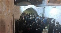 מעל 3000 בני אדם בקבר יוסף