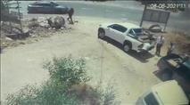 חטיפת רכב סמוך לקריית נטפים