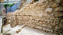 נחשף קטע מחומת ירושלים מלפני 2600 שנה
