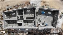 """רק לאחר עתירת רגבים לבג""""ץ: נהרס המבנה הפולשני באתר הארכיאולוגי בשומרון"""