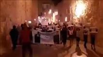 צעדת לפידים בעכו כנגד ישראל