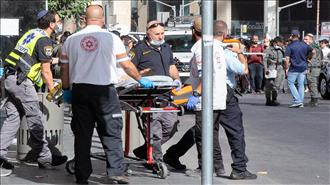 2 פצועים בינוני בפיגוע דקירה סמוך לתחנה המרכזית בירושלים