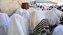 אלפים במעמד ברכת הכהנים