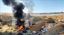 נמשך הטרור האזרחי בנגב: רכבים הוצתו בלב שכונה בבאר שבע