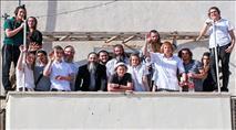 תיעוד: חוזרים לבית הכנסת העתיק ביריחו