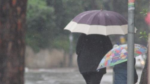 הגשם מתחזק