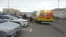 """קלנדיה: שוטר מג""""ב נפצע לאחר שנדרס"""