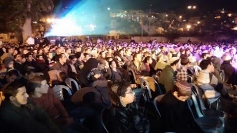 אלפים השתתפו בערב התחזקות בחברון