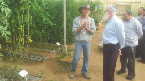 פתרון הלכתי לחקלאים שנפגעו במבצע