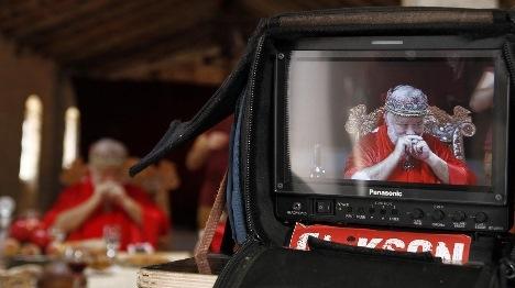 השחקן יהודה בארקן. מתוך הסרט