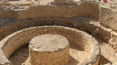 ארמונות החשמונאים (צילום: מורשת ותרבות יריחו)