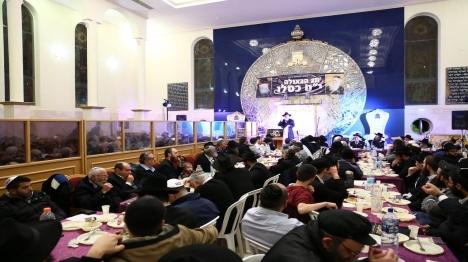 התוועדות יט כסלו בתל אביב (יחצנים)