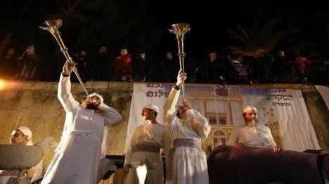 חנוכת המזבח והדלקת המנורה כבימי החשמונאים