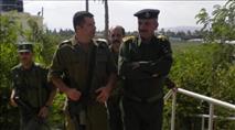 """""""שוטר פלסטיני"""" נעצר בחשד שזרק אבנים"""