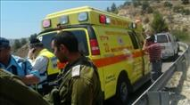 חייל נפצע מאבנים שיידו ערבים בכפר קדום