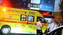 ערבי הרכיב יהודיה על קטנוע, נמלט ממשטרה והתהפך