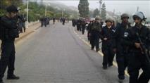 יצהר: שוטרים העירו תלמידים קטינים באמצע הלילה
