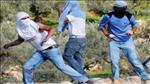 """חובש מג""""ב נפצע מאבנים שיידו ערבים באבו דיס"""