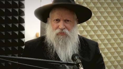 הרב יצחק גינזבורג (מתוך הסרטון)