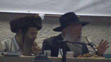 הרב גינזבורג והרב ארוש