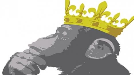 אדר ב': קוף או מלך?