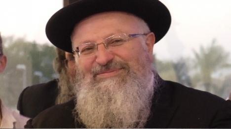 הרב שמואל אליהו. ארכיון (הקול היהודי)