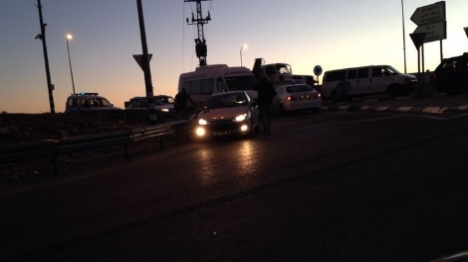 גנבים ערבים דרסו שוטר במהלך מנוסה