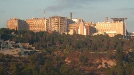 עובד ערבי ניסה להצית מחלקה בבית החולים