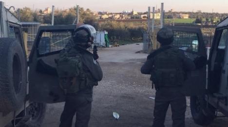 ערבים חמושים במטענים נתפסו בשומרון