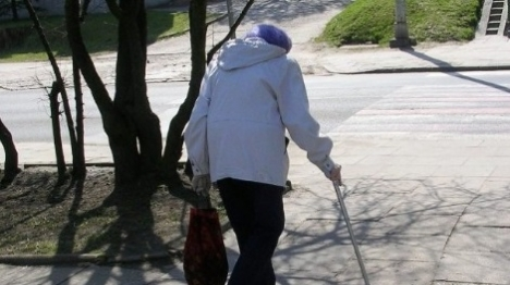 קשיש (אילוסטרציה)