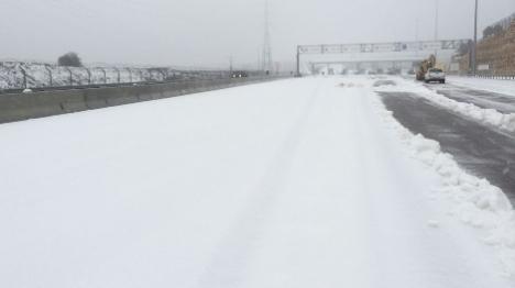 ישראל בלבן: שלג בירושלים - הדרכים חסומות