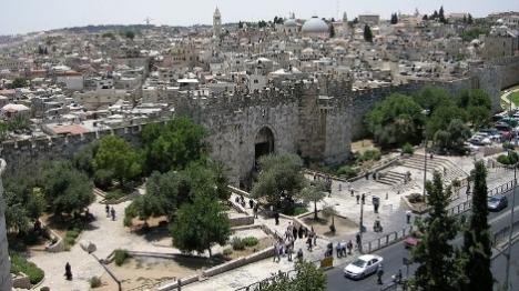 חומת העיר העתיקה (Yoavd)